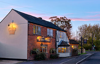 The Crown Pub Restaurant in Granborough Bucks